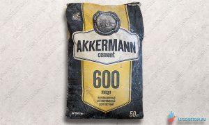 купить в москве высокопрочный бездобавочный серый цемент М600 Д0 Akkermann
