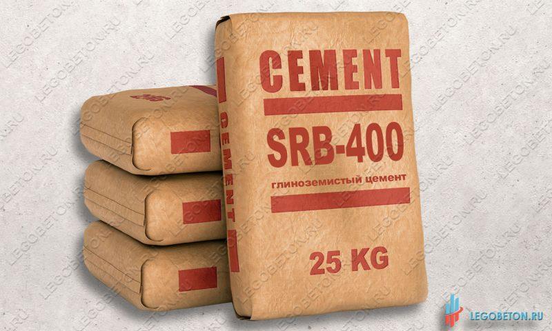 цемент глиноземистый огнеупорный серый SRB 400 (Secar, Франция)