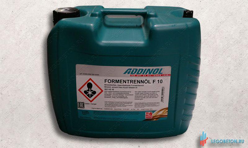 формовочное масло (смазка для форм) Addinol F10 (Германия)