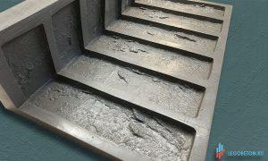купить гибкую форму для плитки под кирпич Заводской литой угол
