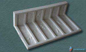 резиновая форма для плитки под кирпич Заводской литой угол купить в москве