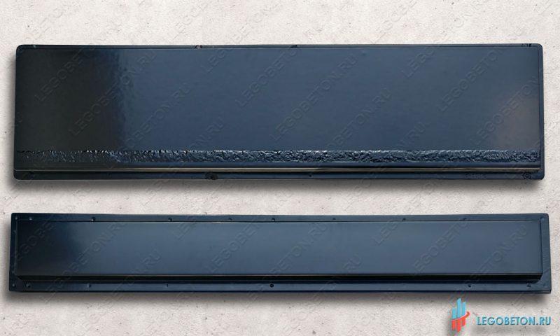 форма ступени с противоскользящей полосой (шагрень) 140 см комплект