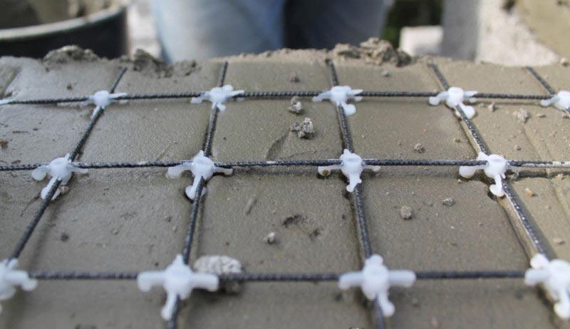 Строительная сетка базальтовая арматурная ROCKMESH-(50х50) (attach1 4089)
