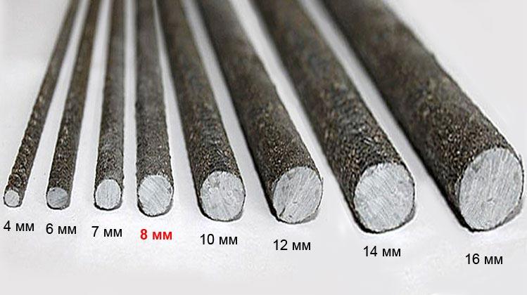 2042 Стеклопластиковая арматура 8мм ; ACK8; тип-П (thumb3852)