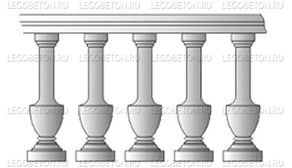 045. Форма «Балясина — перила» (attach2 4862)
