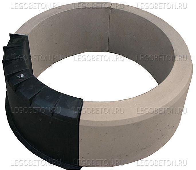 048. Форма «Бордюр полукруг» (attach1 4859)