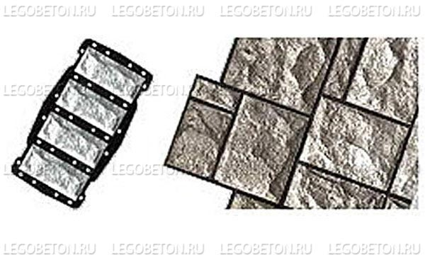 054. Форма «Камень облицовочный (Рваный № 1)» (attach1 4853)