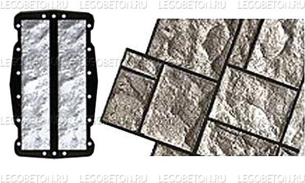 056. Форма «Камень облицовочный (Рваный № 3)» (attach1 4851)