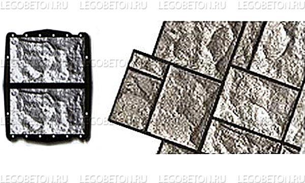 059. Форма «Камень облицовочный (Рваный № 6)» (attach1 4848)