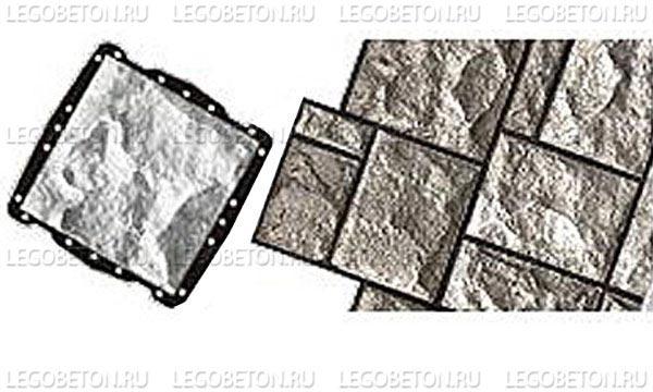060. Форма «Камень облицовочный (Рваный № 7)» (attach1 4847)