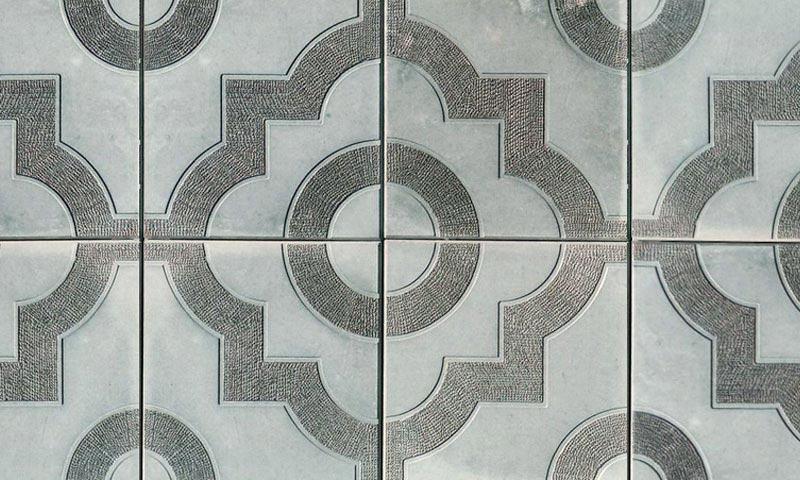 077. Форма «Квадрат «Восточный орнамент»» (attach1 4830)