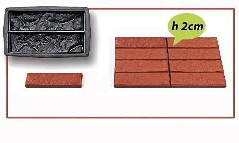 092. Форма «Плитка «Дикий камень» (тонкая)» (thumb4815)